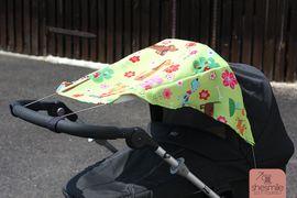 Foto zu Schnittmuster Sonnensegel für den Kinderwagen von shesmile