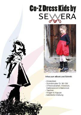 Foto zu Schnittmuster Co-Z Dress Kids von sewera