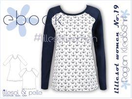 Foto zu Schnittmuster Lillesol women No. 19 Raglan Kleid & Shirt von Lillesol & Pelle