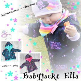 Foto zu Schnittmuster Babyjacke Ella von Engelinchen
