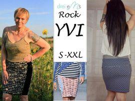 Produktfoto zu Kombi Ebook Shirt/Kleid LACONA + Rock YVI von dreiems