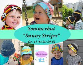 Foto zu Schnittmuster Sommerhut Sunny Stripes von Mamilu Design