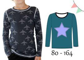 Foto zu Schnittmuster AnniNanni Schnitt 1 Basic Shirt von Anni Nanni