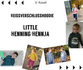 Foto zu Schnittmuster Reißverschlusshoodie Little Henning/Hennja von Mamili1910
