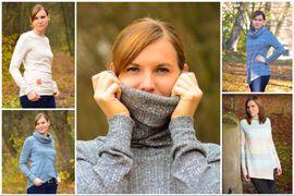Foto zu Schnittmuster Pullover Leara von textilsucht