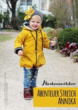 Foto zu Schnittmuster Abenteuerstreich Annika von Abenteuermädchen