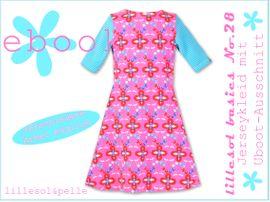 Foto zu Schnittmuster Lillesol basics No. 28 Jerseykleid mit Uboot-Ausschnitt von Lillesol & Pelle