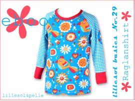 Foto zu Schnittmuster Lillesol basics No. 29 Raglanshirt von Lillesol & Pelle