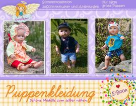 Foto zu Schnittmuster Sommerkollektion Puppenkleider 36 cm von 73engelchen