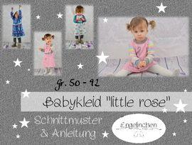 Foto zu Schnittmuster Babykleid Little Rose von Engelinchen