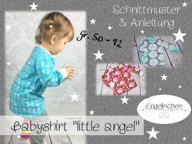 Foto zu Schnittmuster Babyshirt Little Angel von Engelinchen