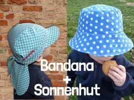 Produktfoto von Windschnittich für Kombi Ebook Bandana + Sonnenhut