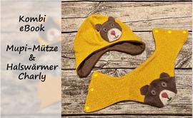 Produktfoto von Bunte Nähigkeiten für Kombi Ebook Kombi-eBook Mupi-Mütze & Halswärmer Charly