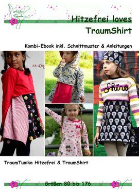 Produktfoto von AmElina Träumelie für Kombi Ebook Hitzefrei loves TraumShirt