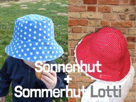 Produktfoto von Windschnittich für Kombi Ebook Sonnenhut + Sommerhut Lotti