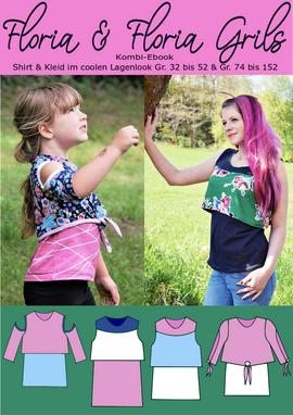 Produktfoto von Rosalieb & Wildblau für Kombi Ebook Kombi-Ebook Floria Girls + Floria Damen