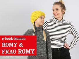 Produktfoto von STUDIO SCHNITTREIF für Kombi Ebook FRAU ROMY & ROMY Rollkragenshirts im Partnerlook