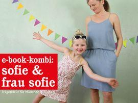 Produktfoto von STUDIO SCHNITTREIF für Kombi Ebook FRAU SOFIE & SOFIE  Trägerkleider im Partnerlook