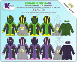 """Produktfoto von KillerTasche für Kombi Ebook Ebook """"Kindheitsheld/in"""""""