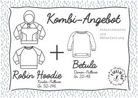 """Produktfoto von Fabelwald für Kombi Ebook Kombi-Angebot: """"ROBIN Hoodie"""" + """"BETULA"""""""