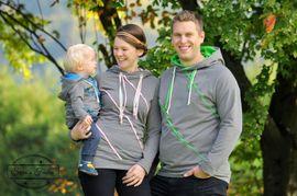 Produktfoto von textilsucht für Kombi Ebook Sweater Kuschelwarm für die ganze Familie