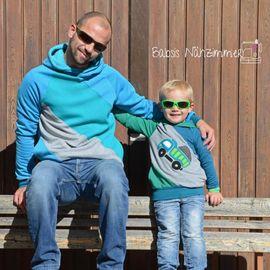 Produktfoto von textilsucht für Kombi Ebook Sweater Kuschelwarm für Herren und Kindern