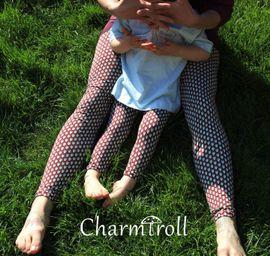 Produktfoto von Nähcram für Kombi Ebook Leggings MissLeggy und MiniLeggy Nähanleitung und Schnittmuster