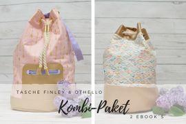 Produktfoto von Zucker & Zimt Design für Kombi Ebook Kombi-Paket Tasche Finley & Othello