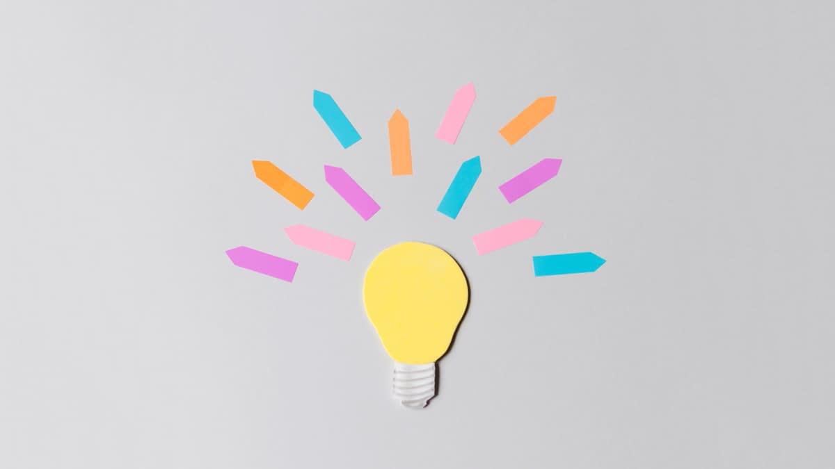 Glühlampe aus Papier