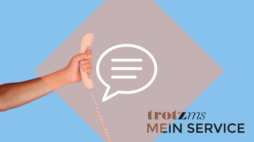 Nachgefragt: Telefonhörer + Mein Service