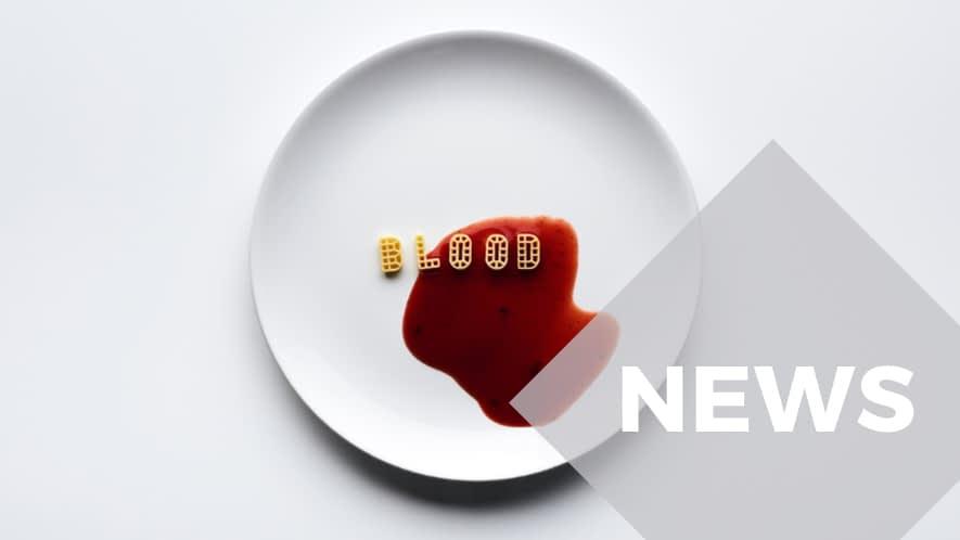 News: Blood geschrieben mit Pasta