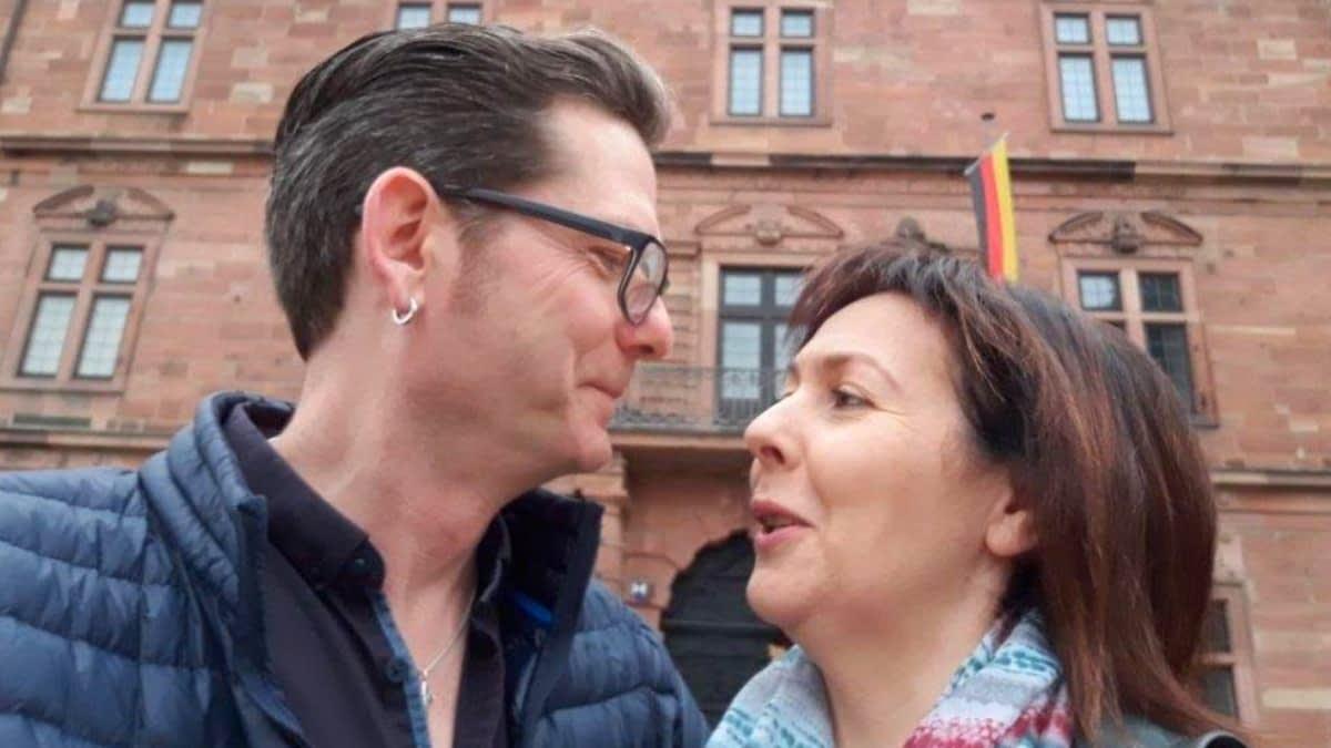 Nicole und ihr Mann