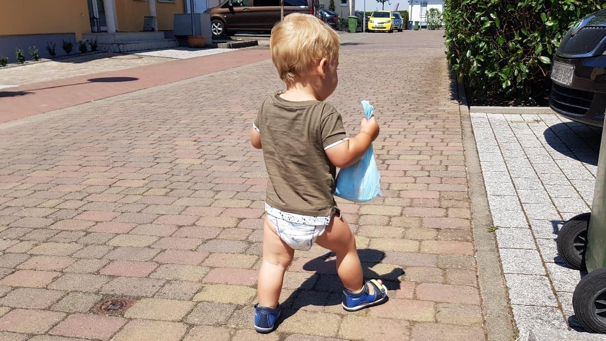 Colin auf der Straße