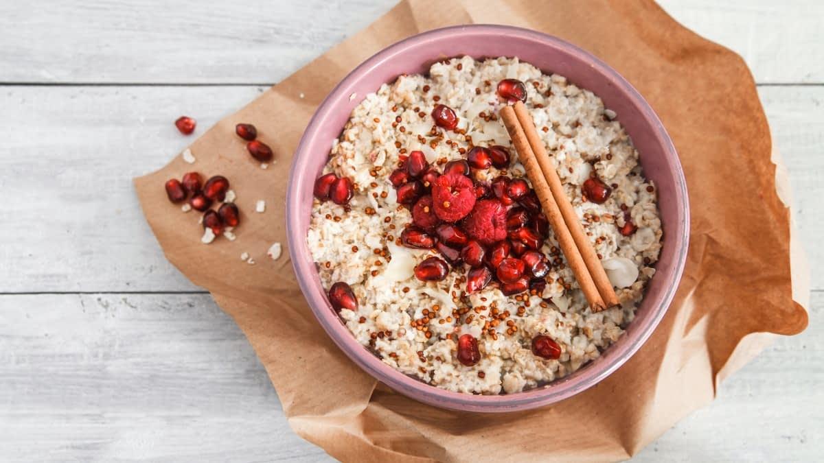 Quinoa mit Beeren