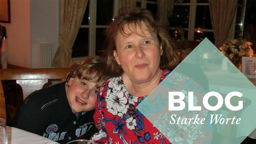 Simone und ihr Sohn