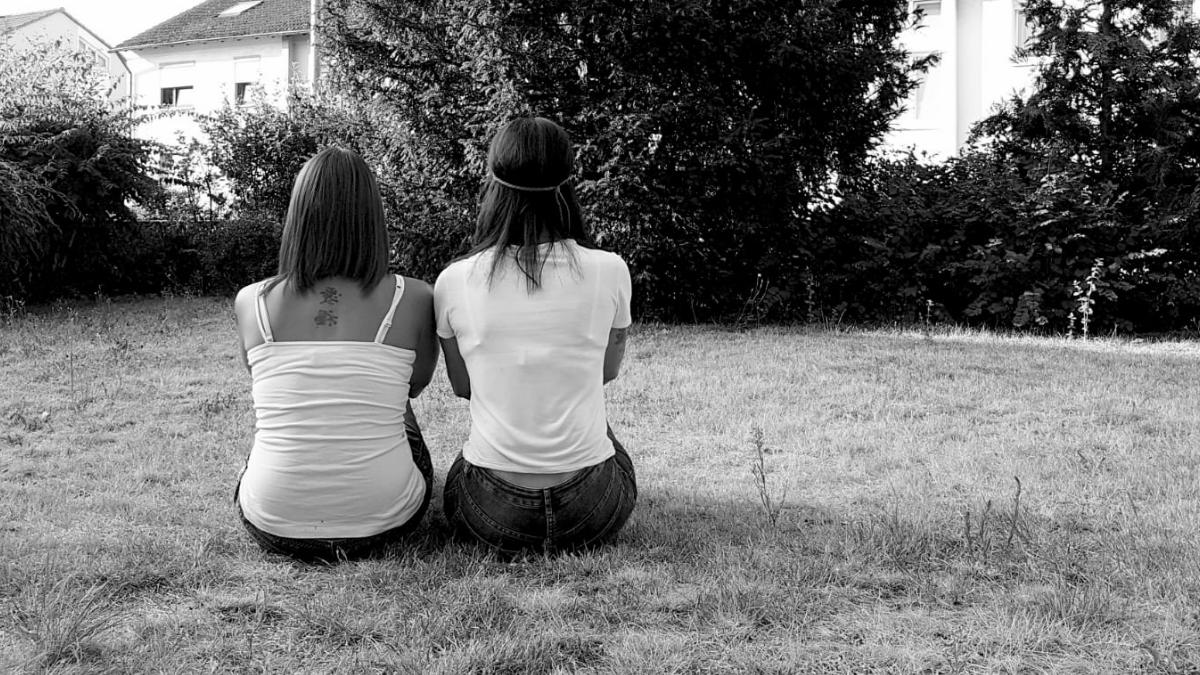 Manuela und Freundin