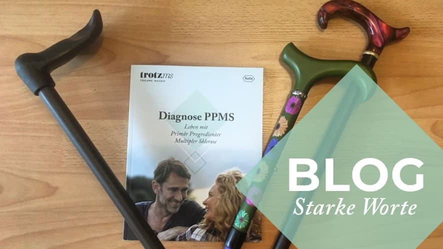 Heikes Gehstöcke und eine PPMS Broschüre