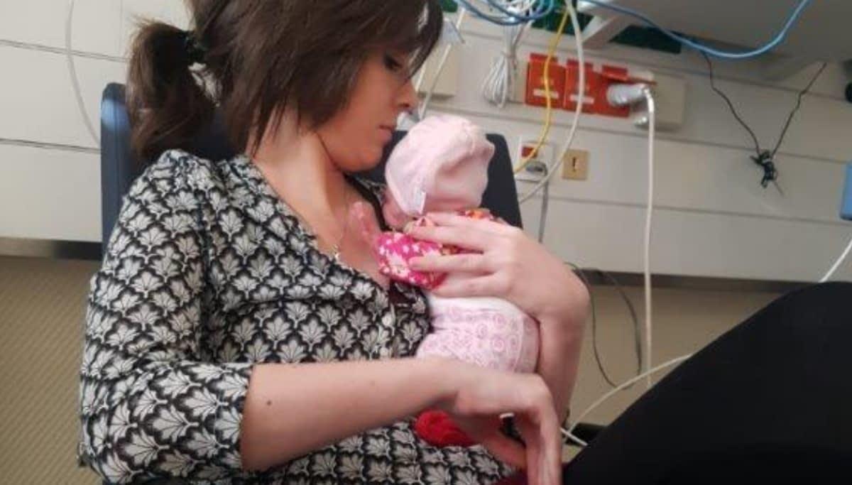 Nicoles Tochter und Lia