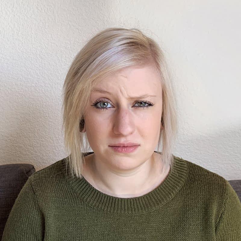 MS-Betroffene Winona im Portrait; Faces of MS