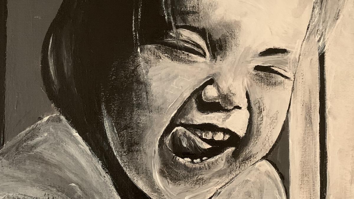 Kunst vonmMS-Betroffenen Alex