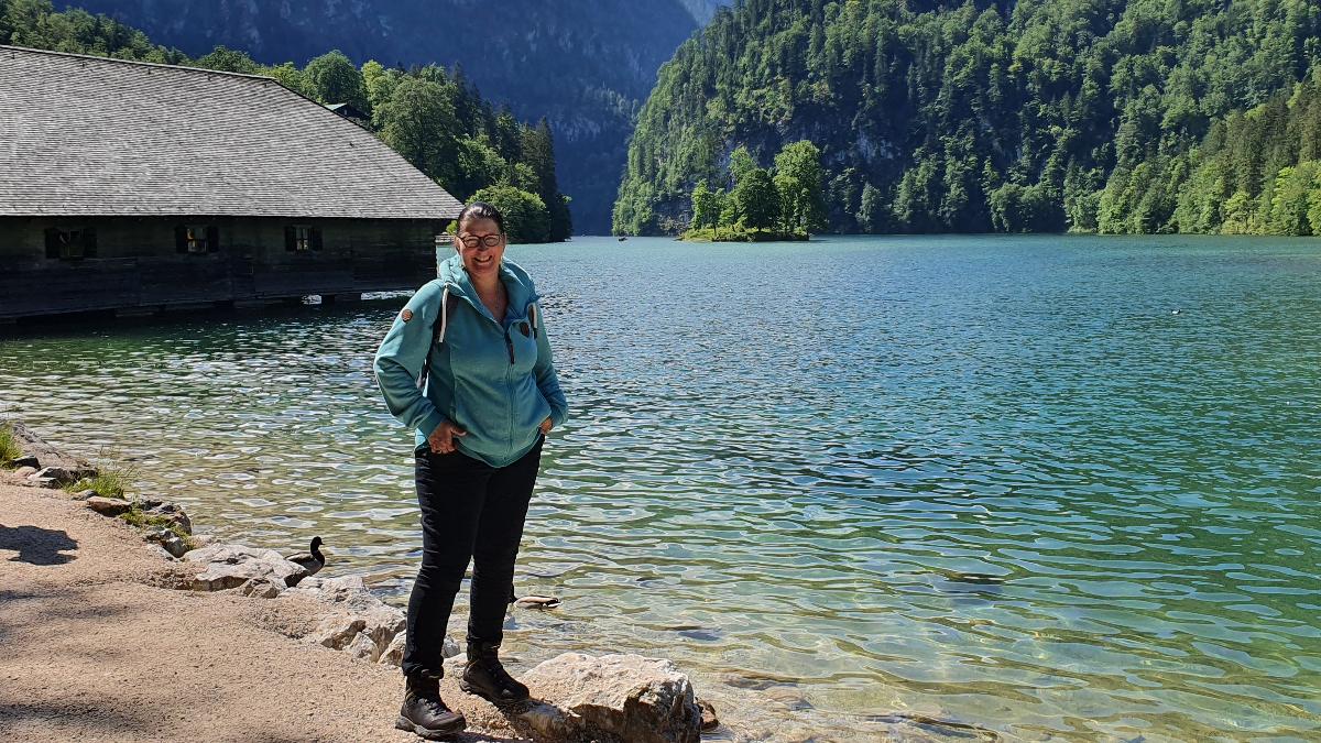 Steffi H. im Urlaub