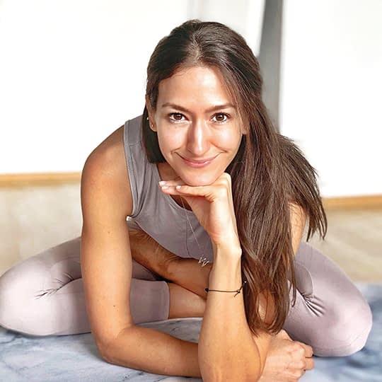 Yoga macht glücklich icon