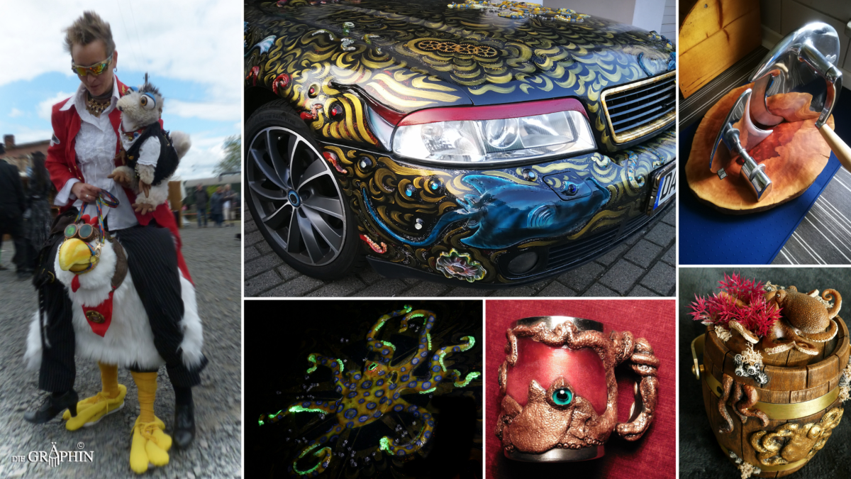 Collage von Jennies Werken