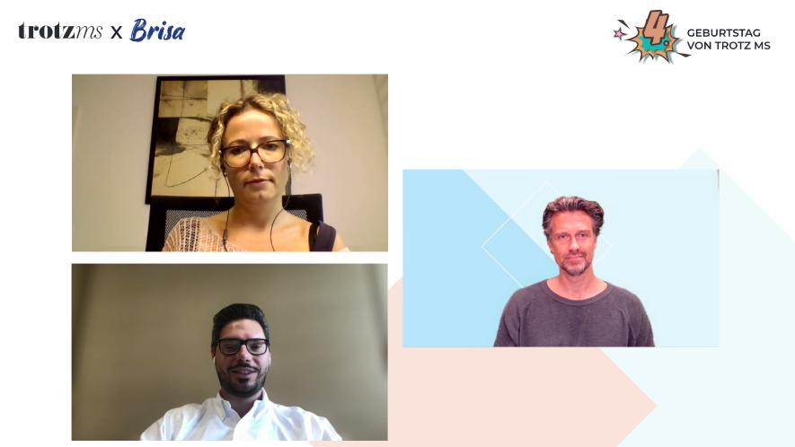 Dr. Daniela Rau und Dr. Benjamin Friedrich im digitalen Interview mit Wayne Carpendale