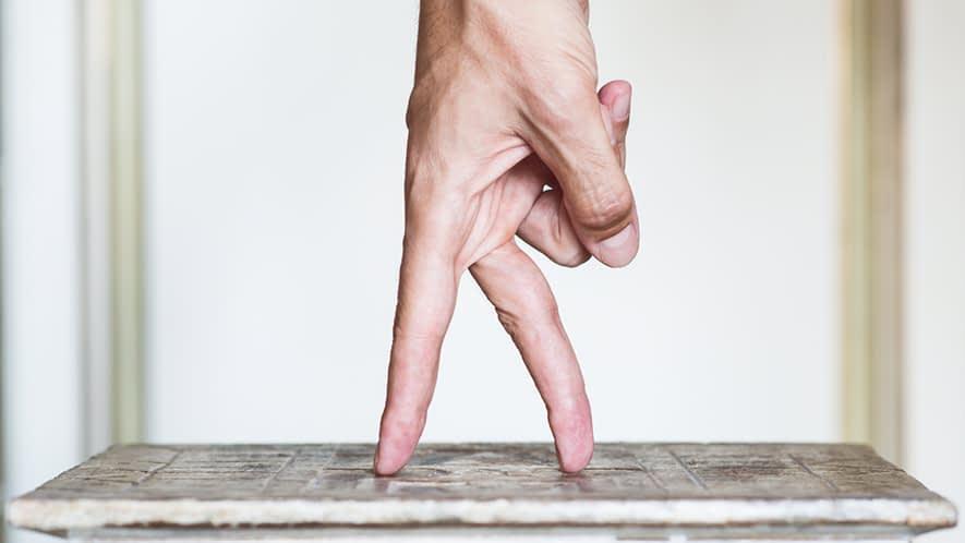 Zwei Finger