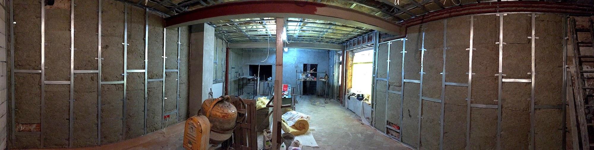 Studio w budowie