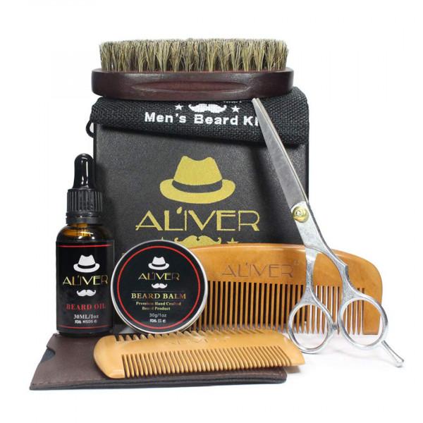 Bartpflege Set Für Männer (8-Teilig)