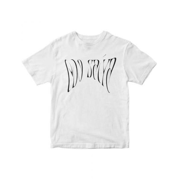 Edo Saiya T-Shirt Oversize white