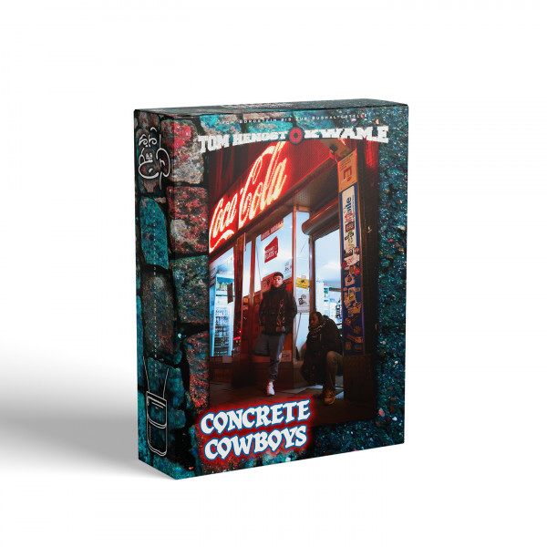Kwam.E & Tom Hengst - Concrete Cowboys (Ltd. Deluxe Box)