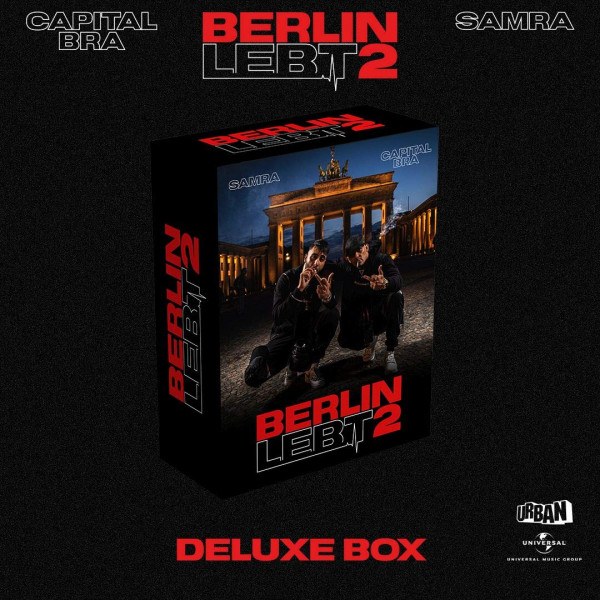 Capital Bra & Samra - Berlin Lebt 2 (Ltd. Deluxe Box)